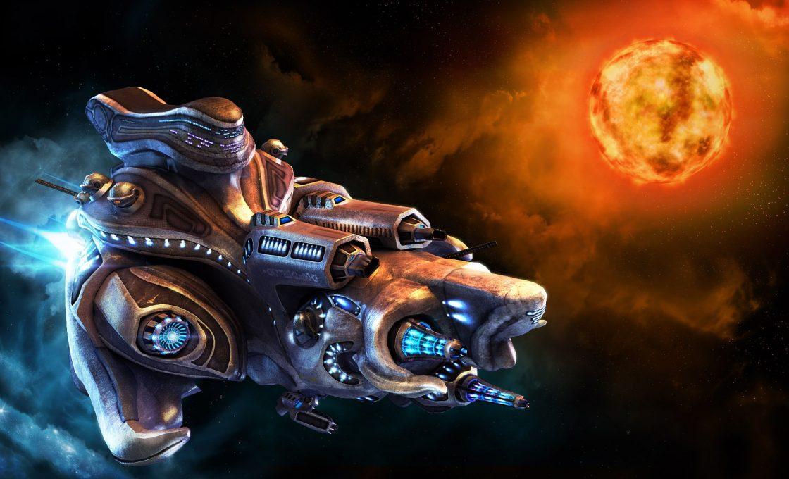 Кадр из игры Космические рейнджеры