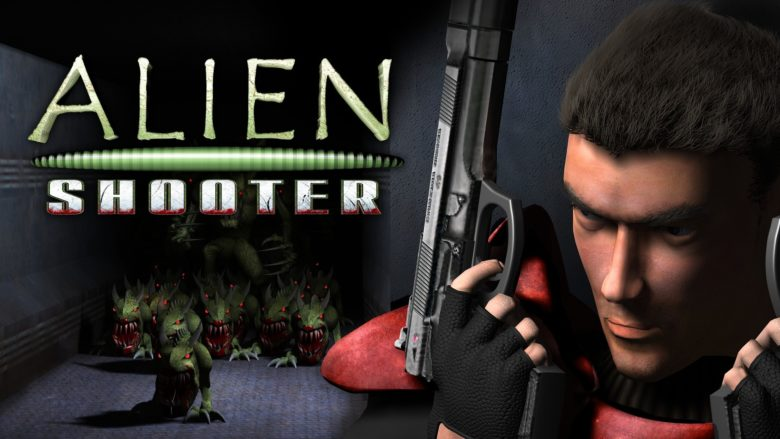 Кадр из игры Alien Shooter