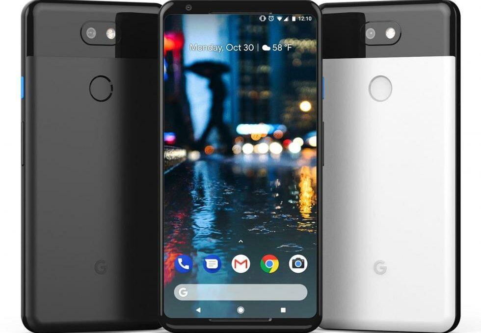 Лицевая и тыльная панели смартфона Google Pixel 3 XL