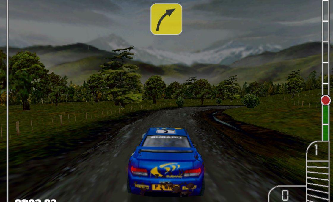 Типичная гонка в Colin McRae Rally