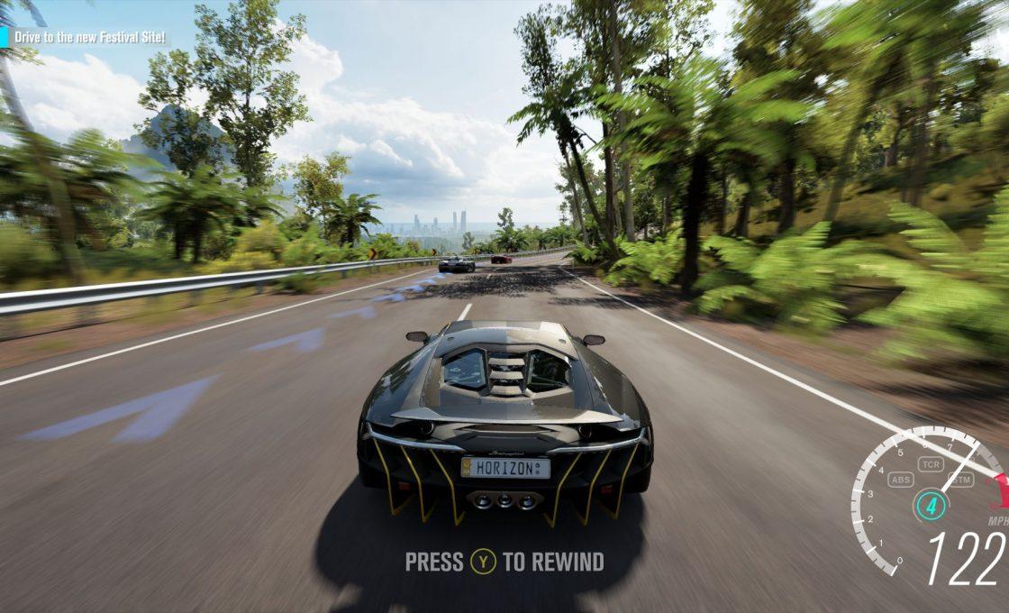 Скоростное путешествие в Forza Horizon 3