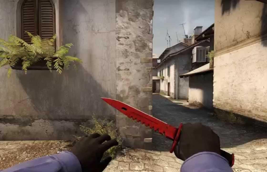 Скин для ножа M9 Bayonet Crimson Web