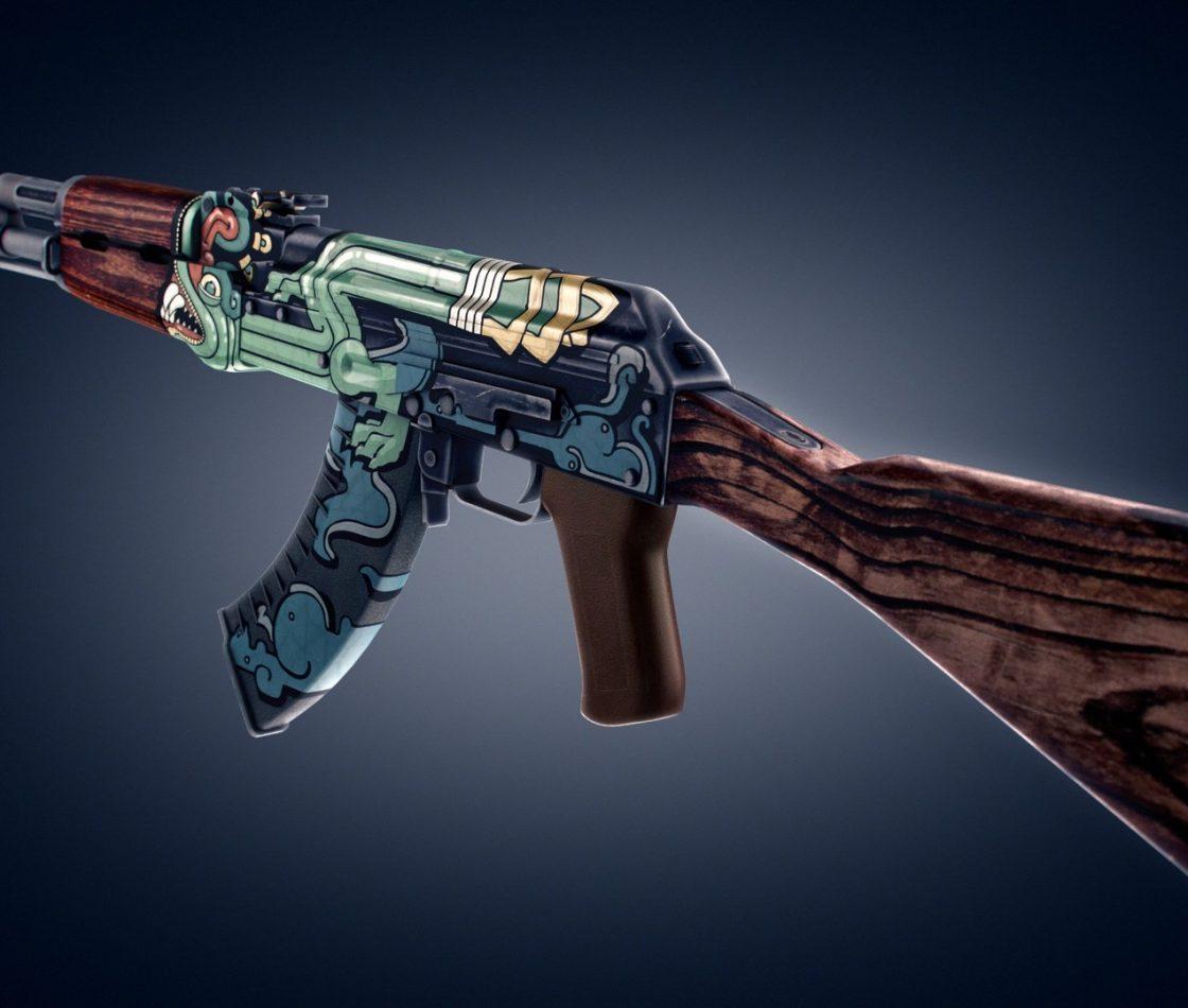 Скин Fire Serpent для AK-47