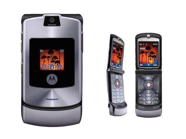 Телефон-раскладушка Motorola RAZR V3