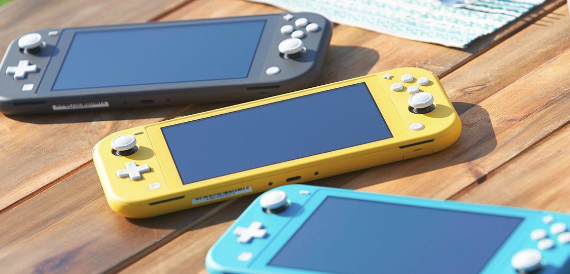 Можельный ряд Nintendo Switch Lite