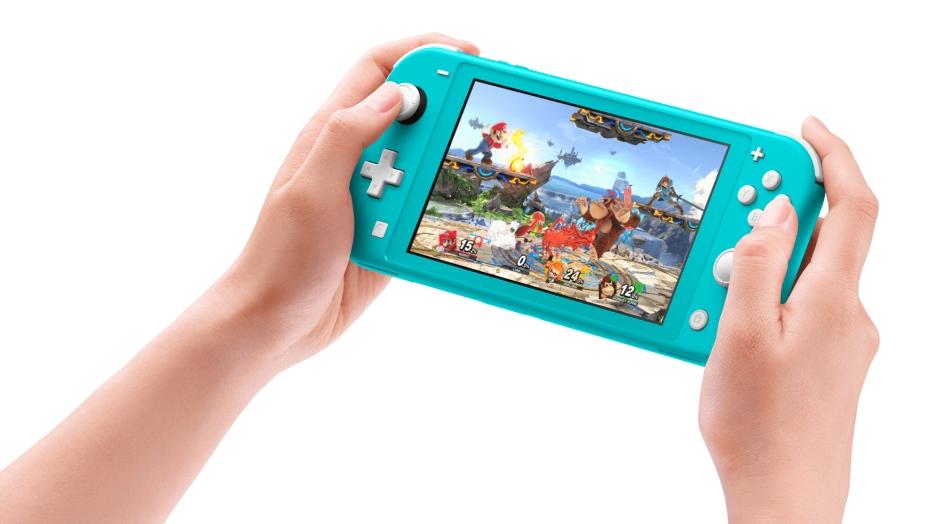 Внешний вид Nintendo Switch Lite