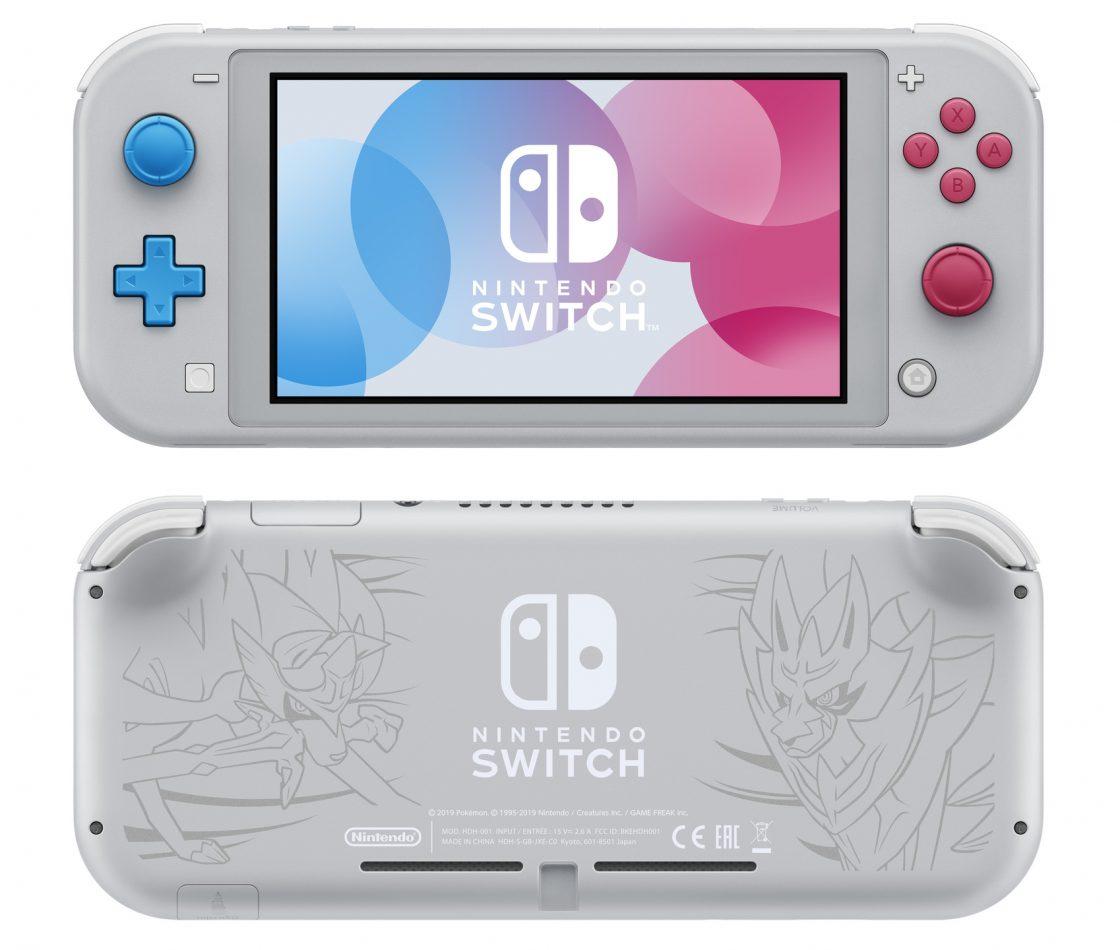 Новые модели Nintendo Switch Lite