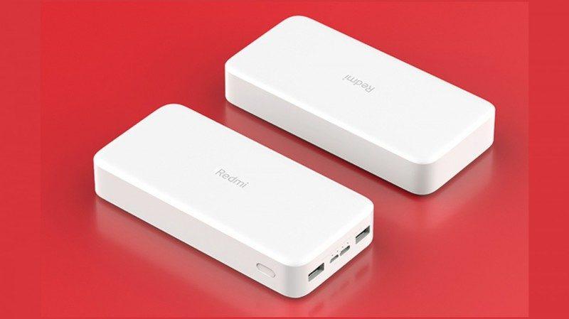 Анонсированы новые внешние аккумуляторы с ёмкостью до 20000 мАч от Xiaomi Redmi