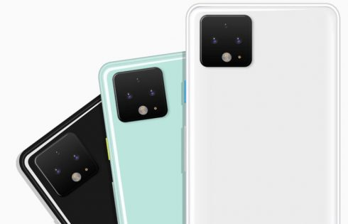 Появились фотографии фронтальной панели смартфона Pixel 4