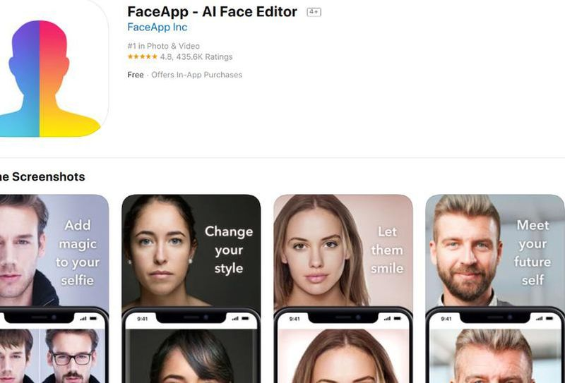 В App Store найдены фейковые приложения FaceApp