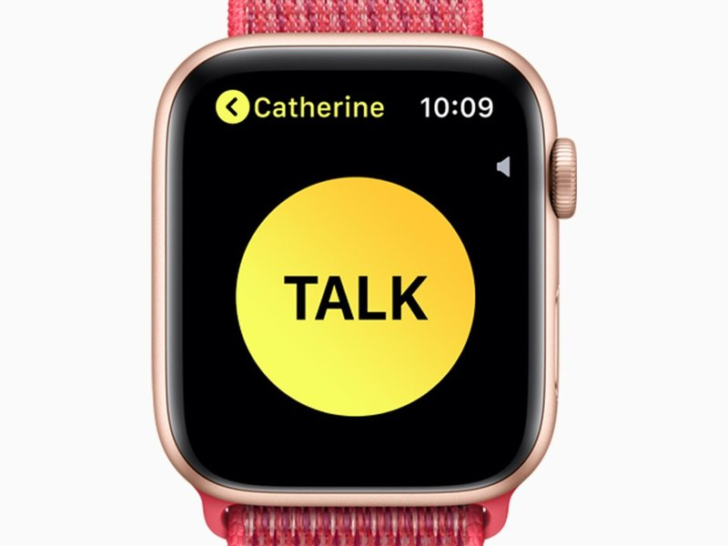 Владельцы Apple Watch снова могут использовать Walkie-Talkie