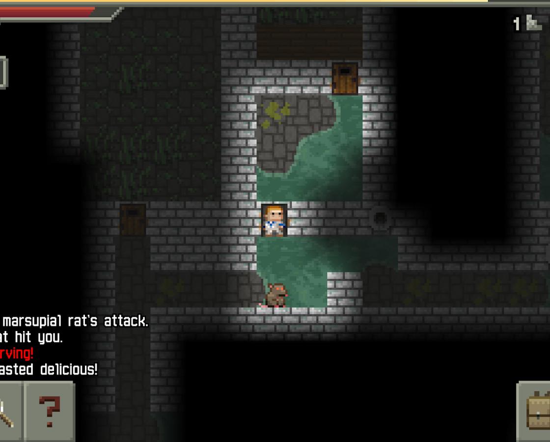 Локация в Pixel Dungeon