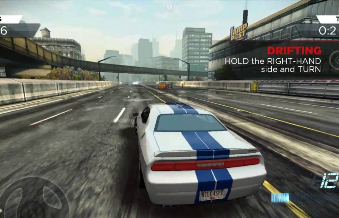 Гонка в Need for Speed: Most Wanted