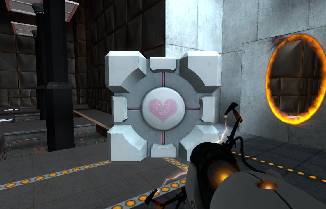Прохождение задания в Portal
