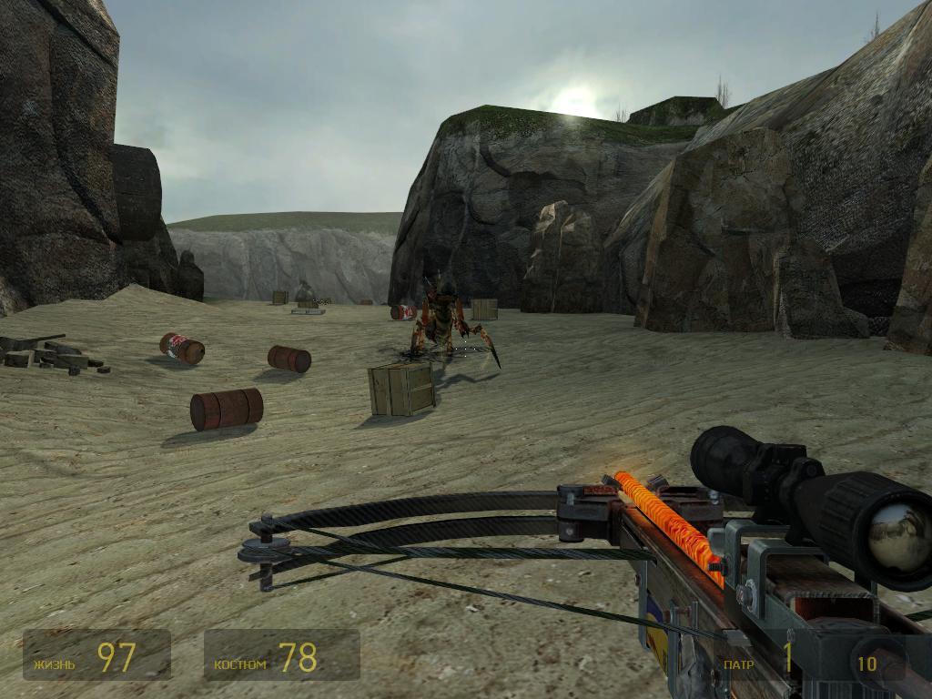 Игровой процесс в Half-Life 2