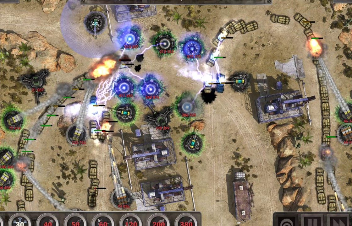 Геймплей в Defense Zone 3 HD