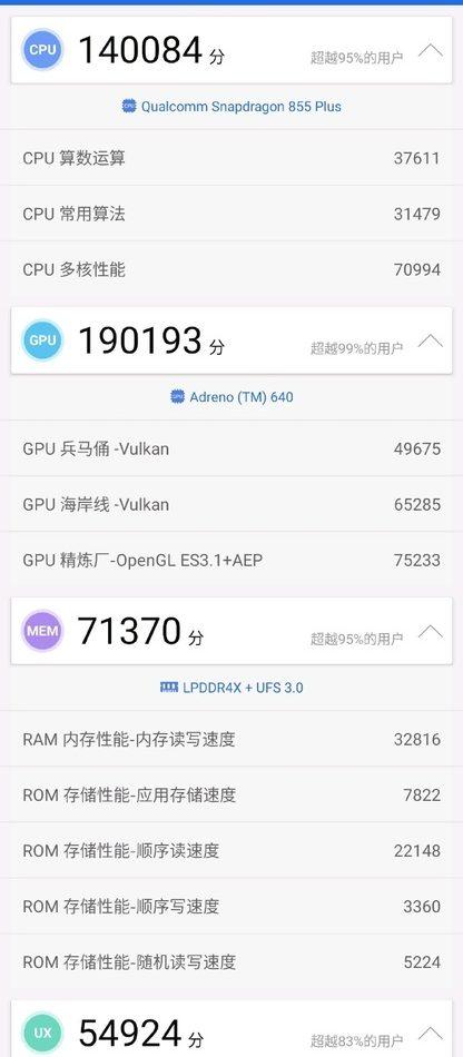 Тест Xiaomi Black Shark 2 Pro в AnTuTu
