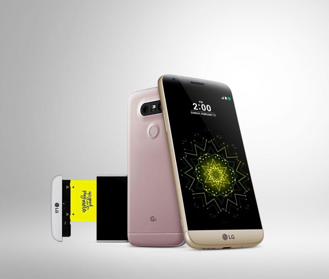 Смартфон LG G5 с модульной конструкцией