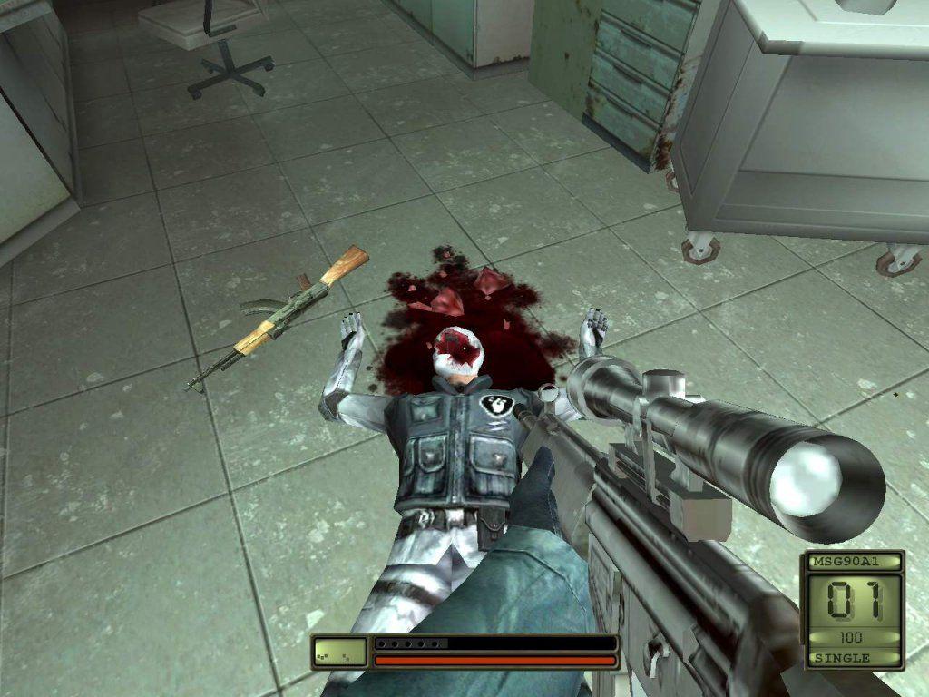 Игровой процесс в Soldier of Fortune II: Double Helix