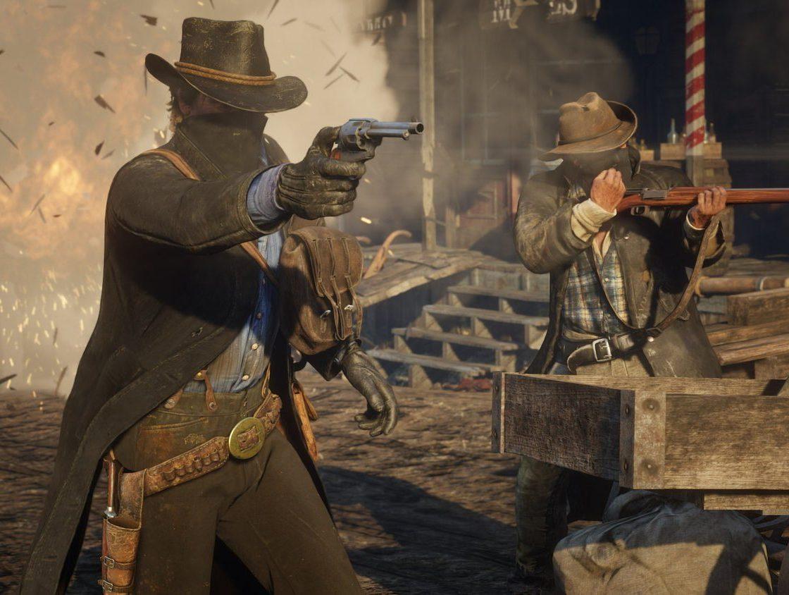 Перестрелка в Red Dead Redemption 2