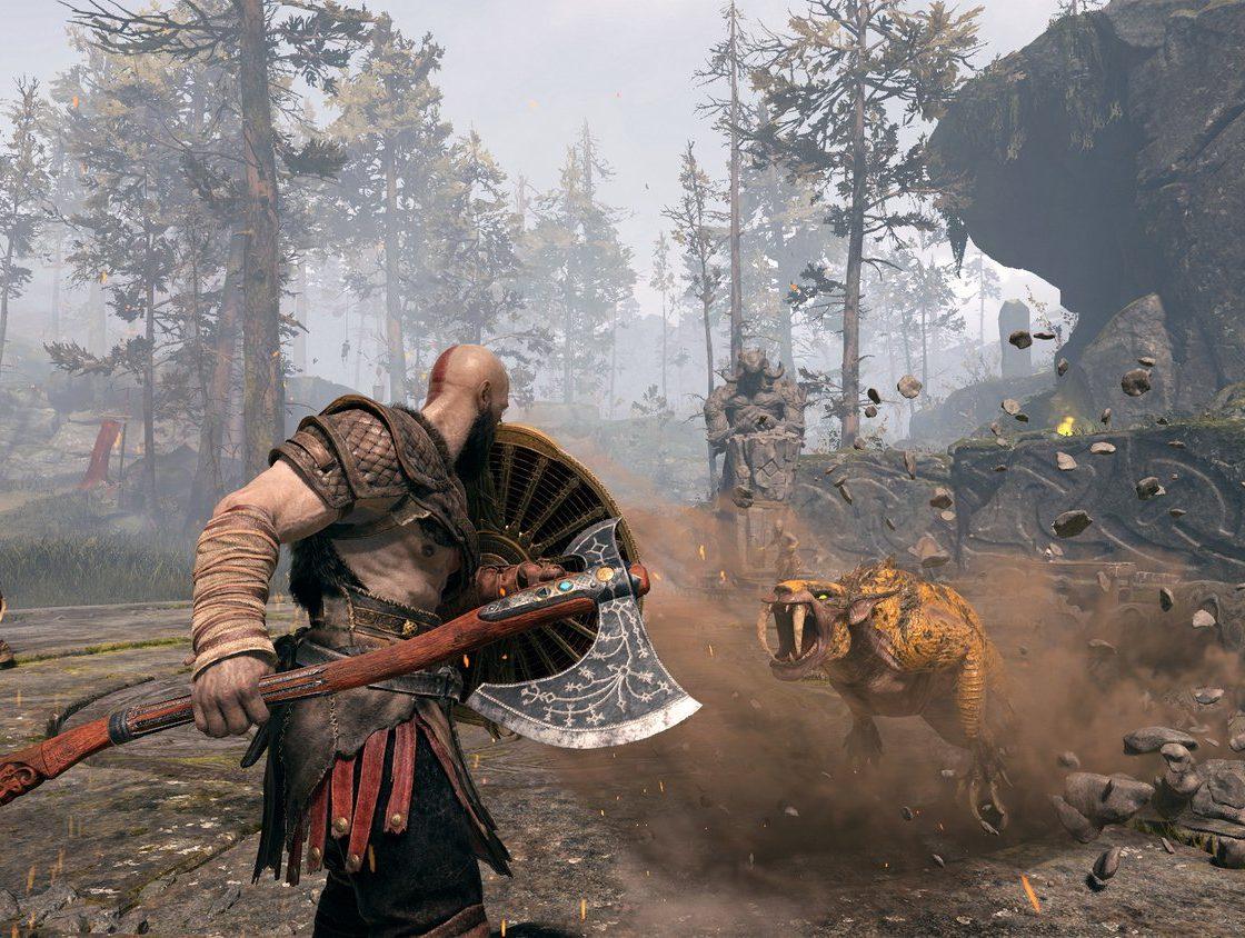 Игровой процесс в God of War