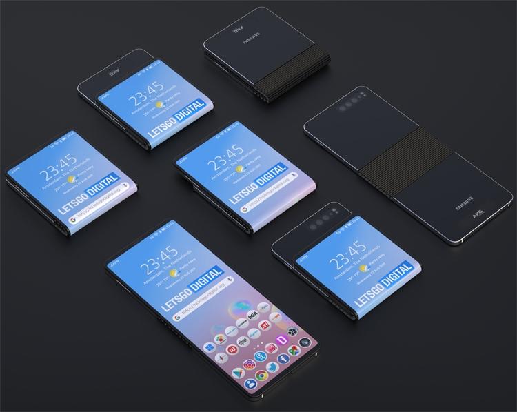 Samsung патентует смартфон