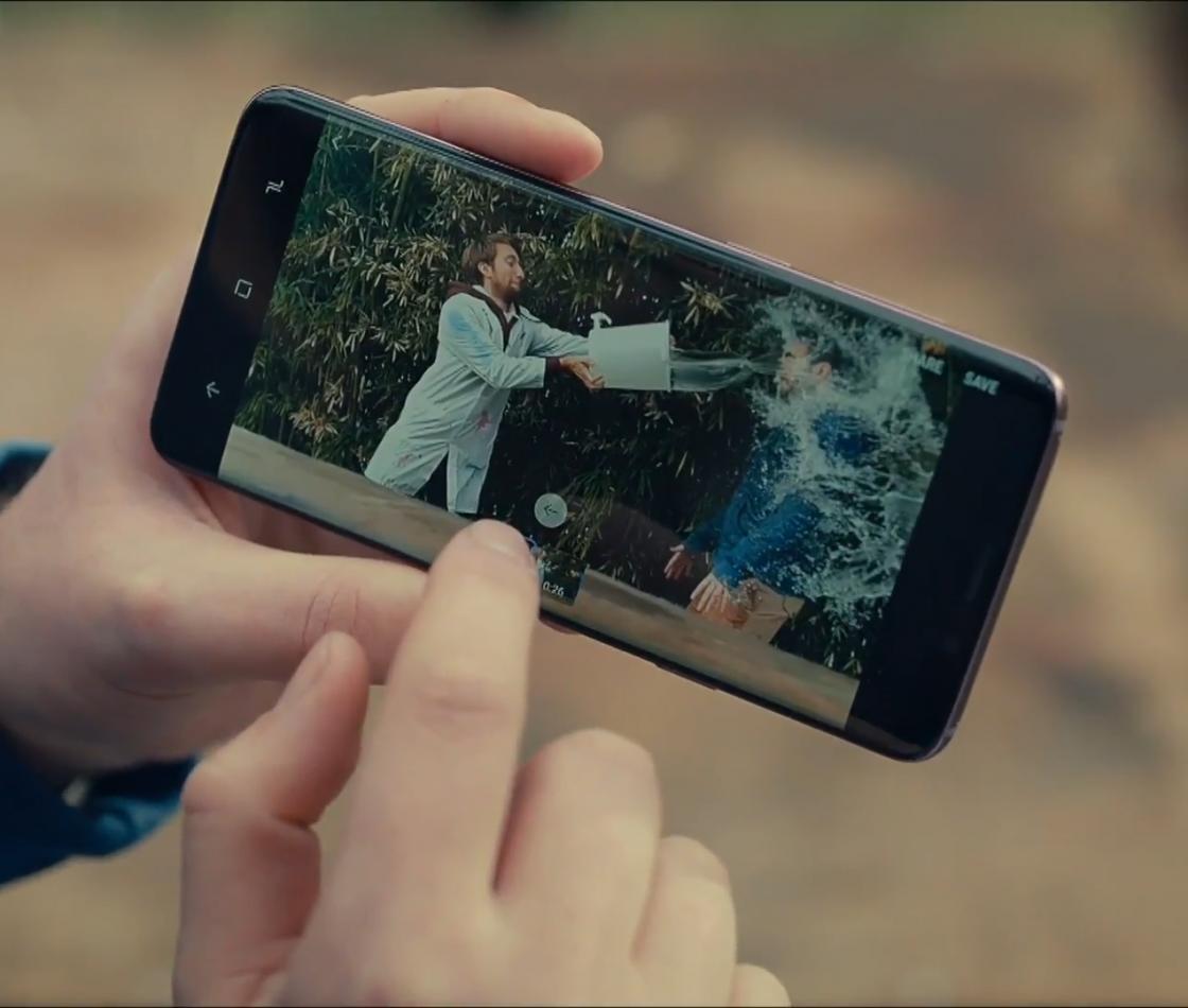 Замедленная съёмка на смартфоне