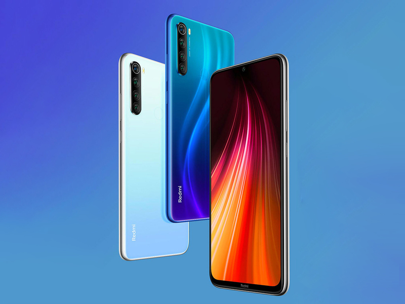 Дизайн Redmi Note 8