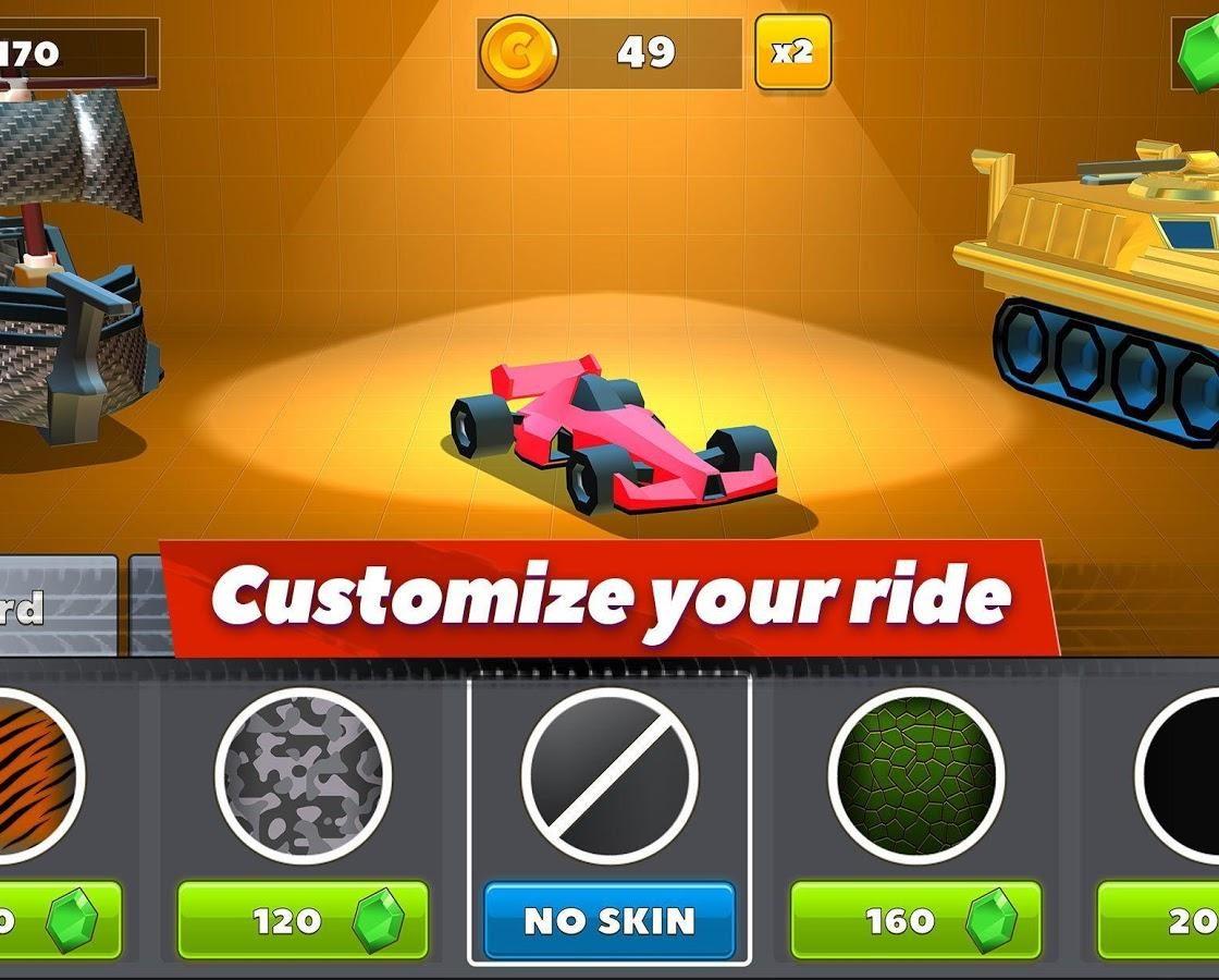 Игровой процесс в Crash of Cars