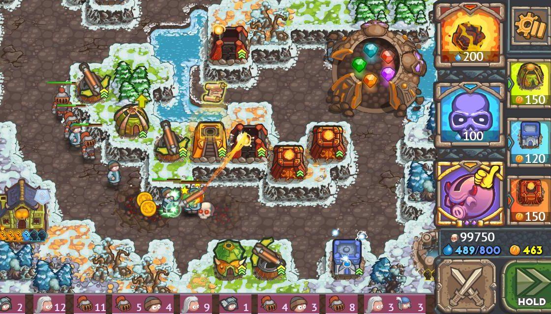 Игровой процесс в Cursed Treasure 2