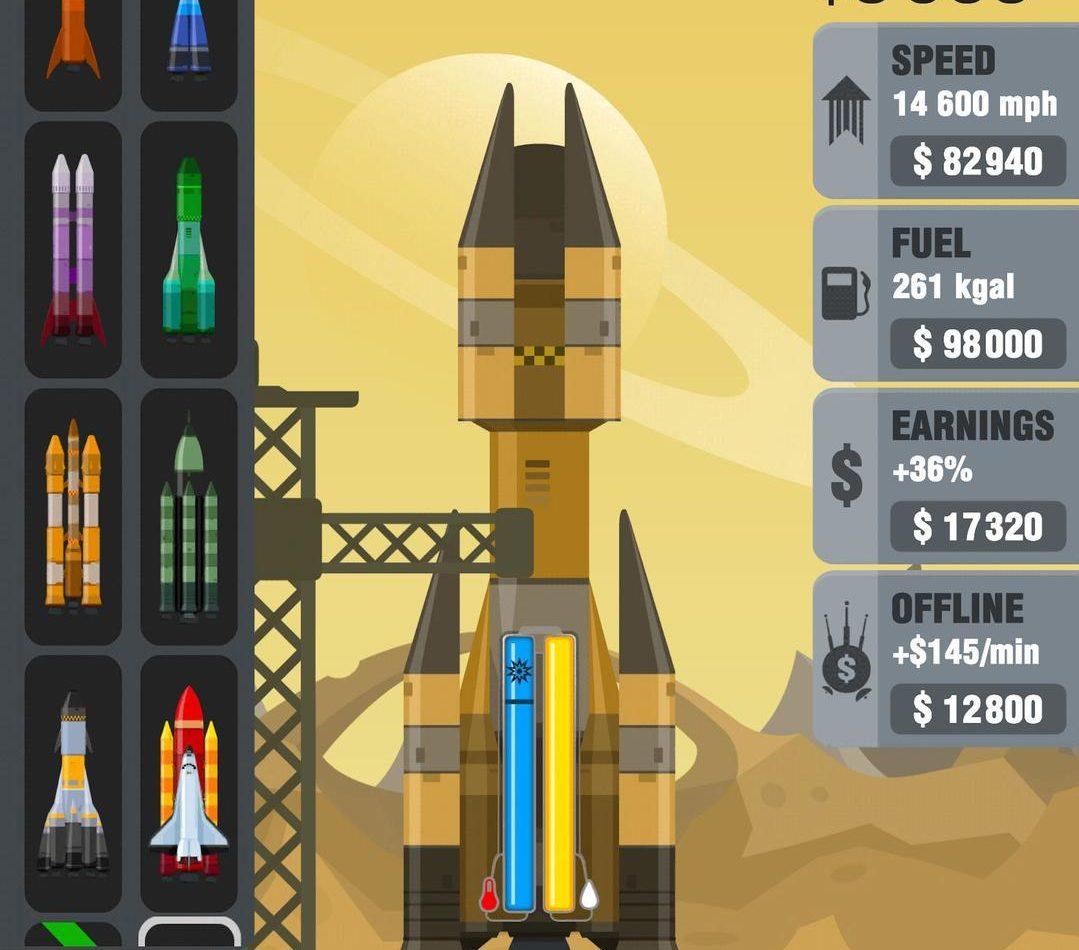 Геймплей в Rocket Sky