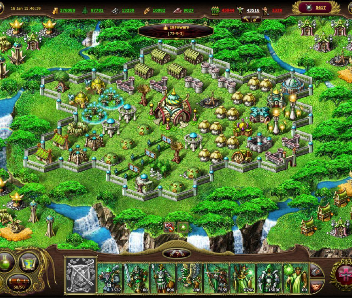 Геймплей в My Lands: Black Gem Hunting