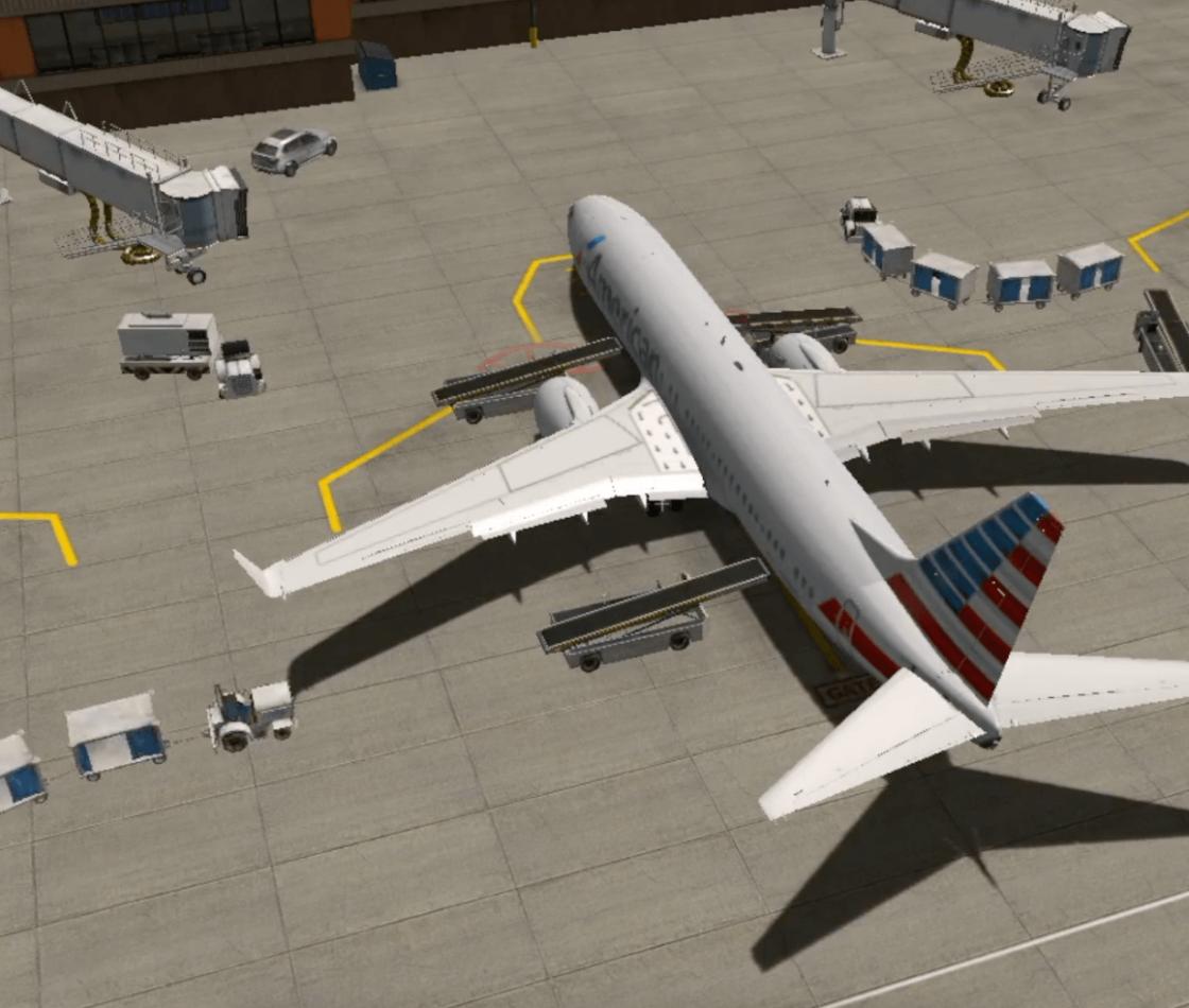 Игровой процесс в X-Plane 11