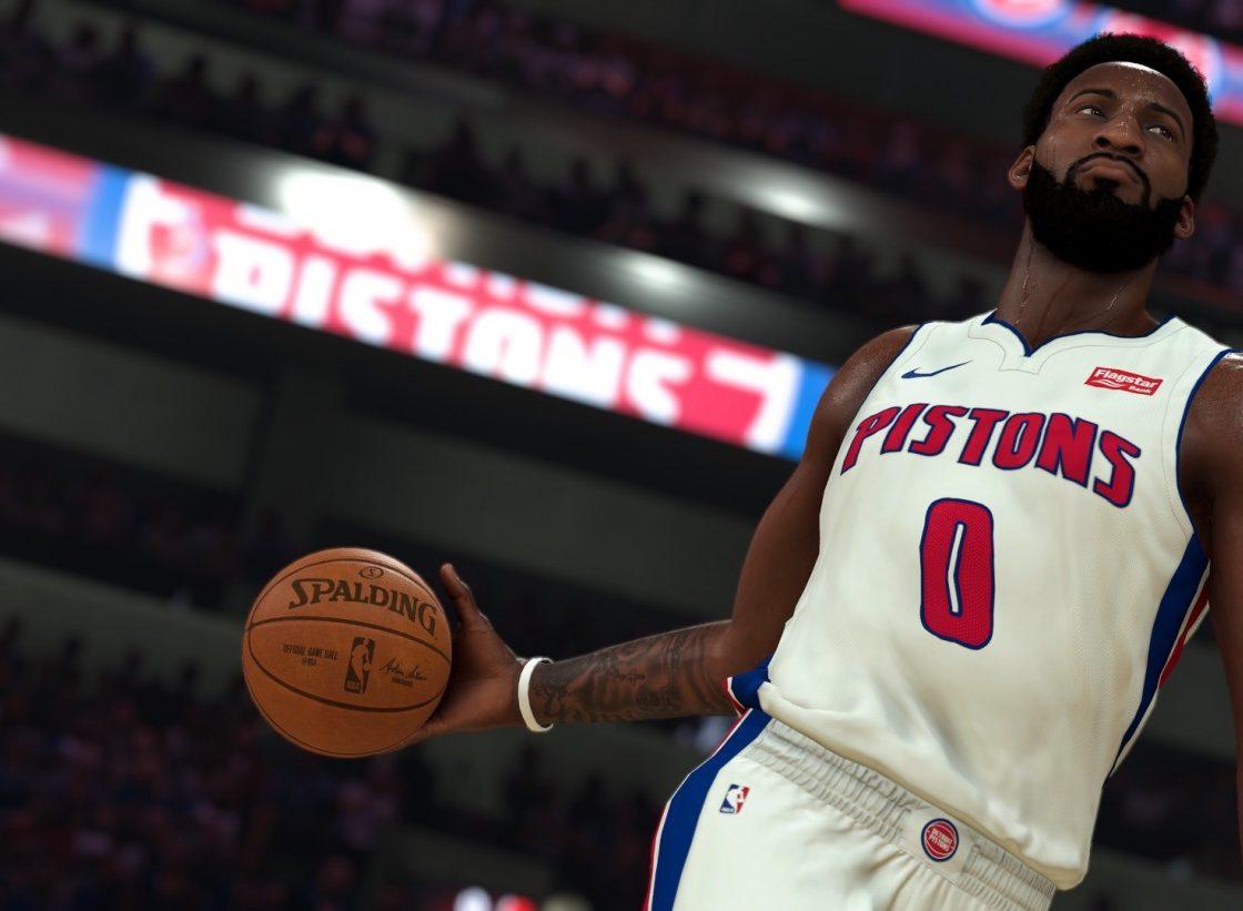 Игровой процесс в NBA 2K20