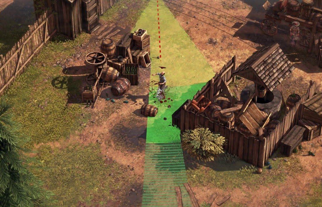 Игровой процесс в Desperados III