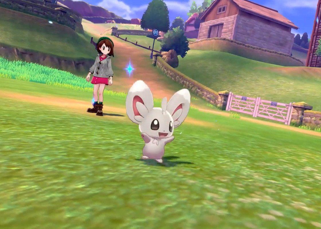 Игровой процесс в Pokémon Sword and Shield