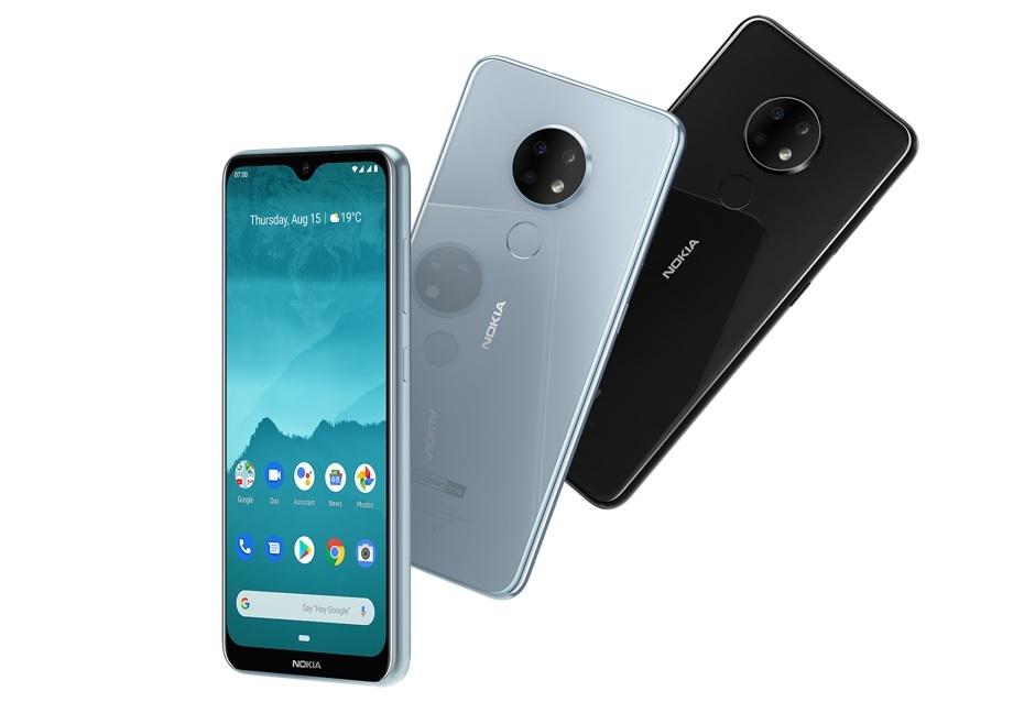 Nokia 6.2 и 7.2