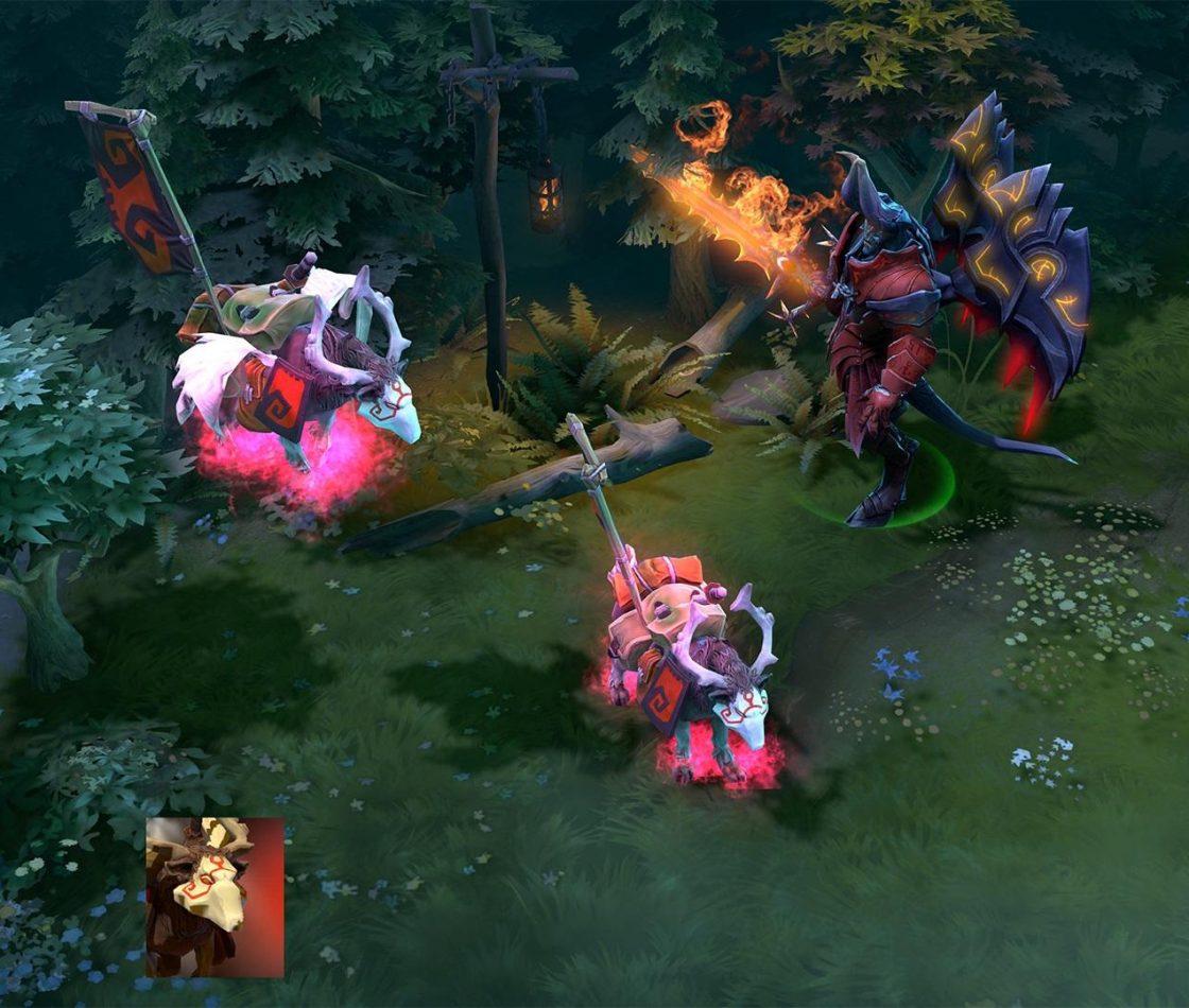 Doom рядом с розовым War Dog