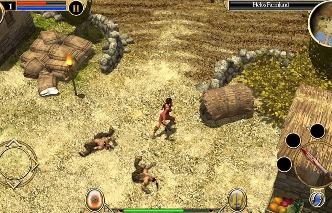 Игровой процесс в Titan Quest