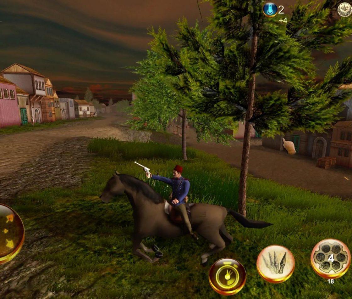 Геймплей в Zaptiye: Open world action adventure