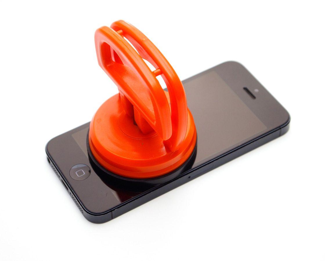 Присоска для снятия защитного стекла со смартфона