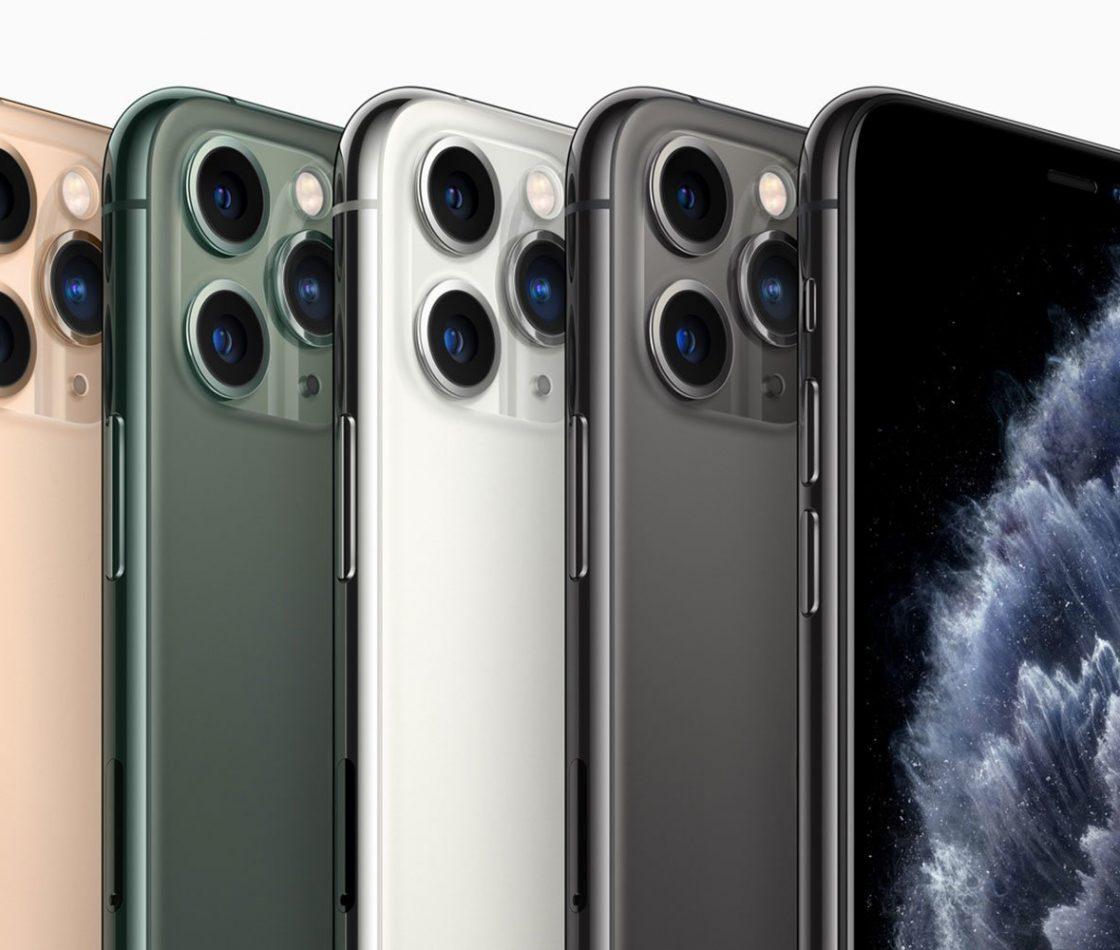 iPhone 11 Pro в разных цветах
