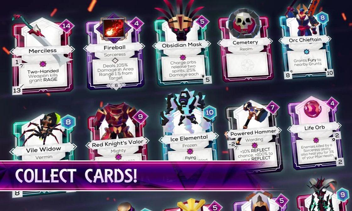 Карточки в Monolisk