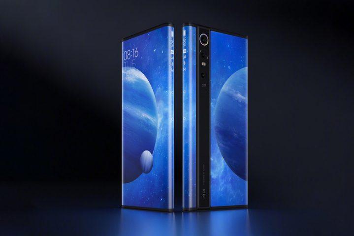 Будущее становится ближе: Xiaomi представила новый смартфон Mi Mix Alpha