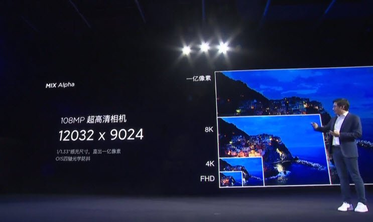 Презентация Xiaomi Mi Mix Alpha