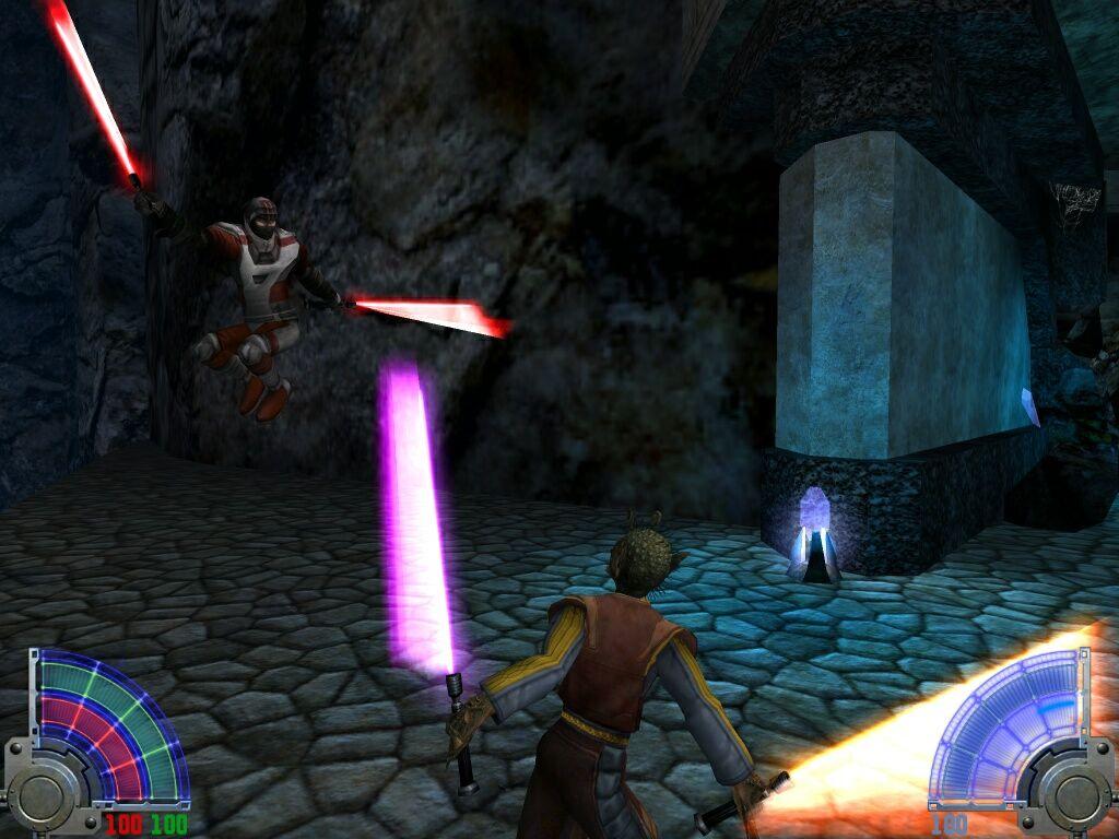 Игровой процесс в Star Wars Jedi Knight — Jedi Academy