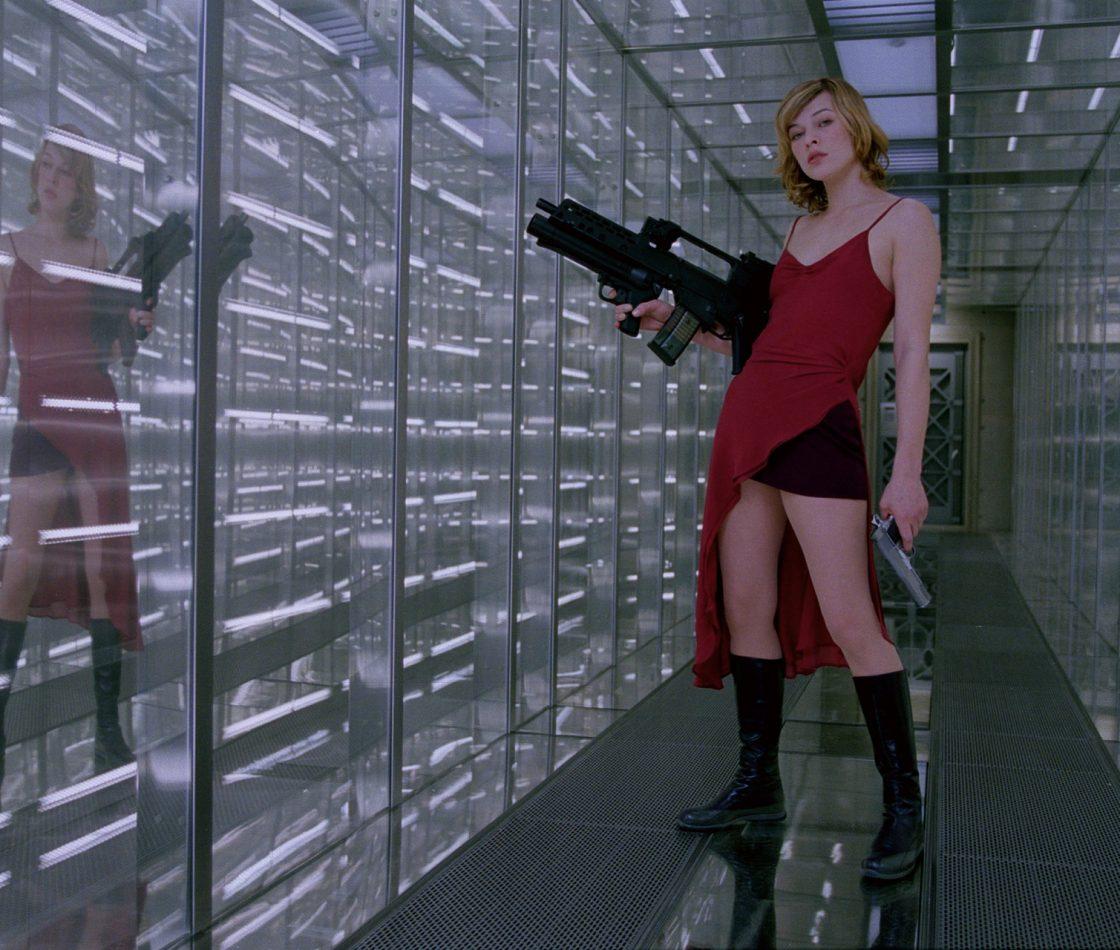 Кадр из фильма «Обитель зла»