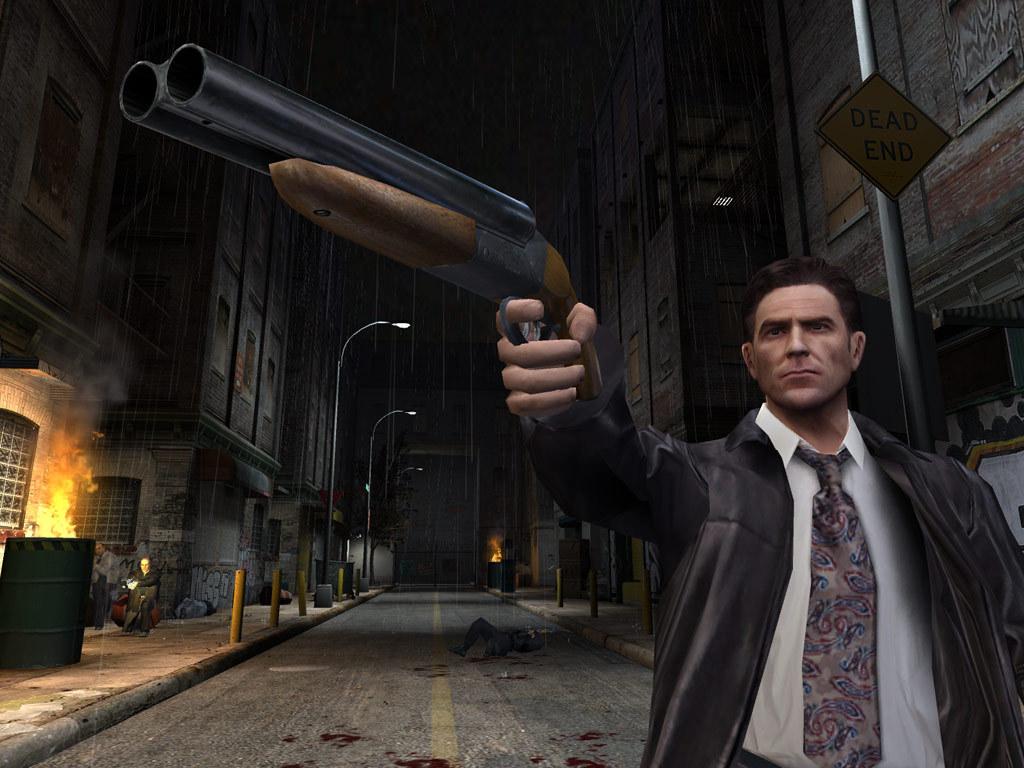 Игровая сцена из Max Payne 2