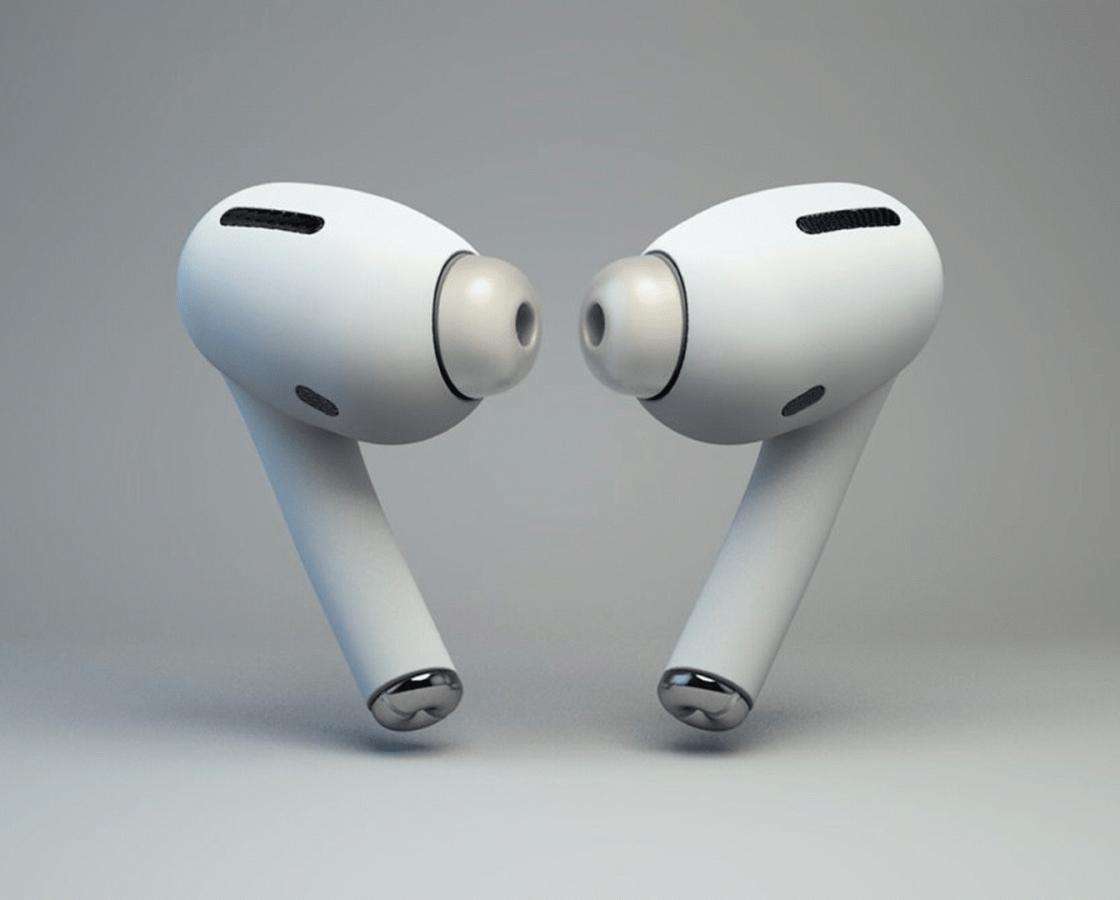 Рендер наушников Apple AirPods 3