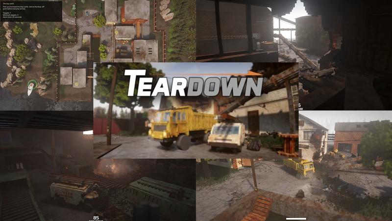 Геймплейный трейлерTeardown представлен студией Tuxedo Labs